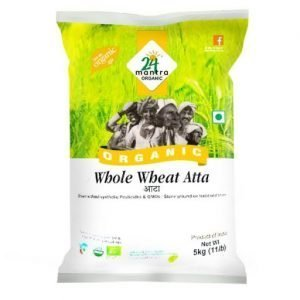 24 Mantra Whole Wheat Att-5 kgs