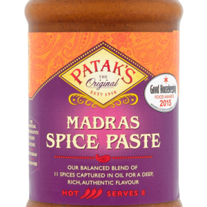 PATAK MADRAS CURRY (MASALA) PASTE 283G