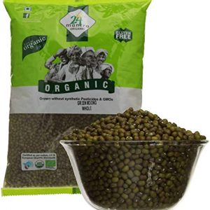24 Mantra Green Mung Whole-1 kgs