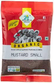 24 Mantra Mustard Small 100G