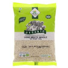 24Mantra Urad White Whole-1 Kgs
