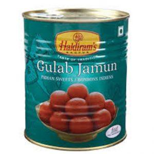 HALDIRAM GULAB JAMUN TINS 1 Kg