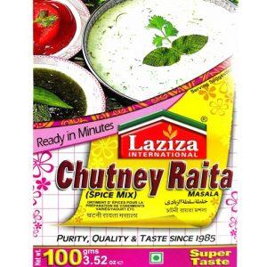 LAZIZA CHUTNEY RAITA MASALA 100G