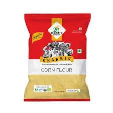 24 Mantra Organic Corn Flour (Makki Ka Atta)  1 KG
