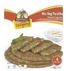 Bombay Walla Mix Veg Paratha