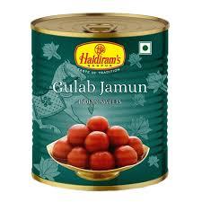 HALDIRAM GULAB JAMUN(JAMPHAL) (12 PIECES)