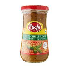 Ruchi Green Chilli Pickle 300 g
