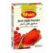 shan redchilli powder 100gm