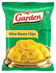 Garden Yellow Banana Chips 110g