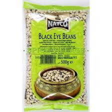 Natco Black Eye Beans 500g