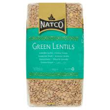 Natco Green lentils 1kg