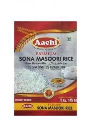 Aachi Sona Masoori Raw Rice 5kg